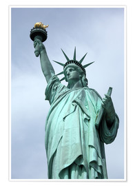 Póster Premium  Statue of Liberty - Catharina Lux