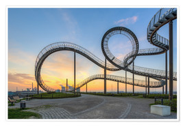Póster Premium  Tiger and Turtle Duisburg - Michael Valjak
