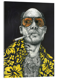 Quadro em acrílico  Fear and Loathing - Inked Ikons