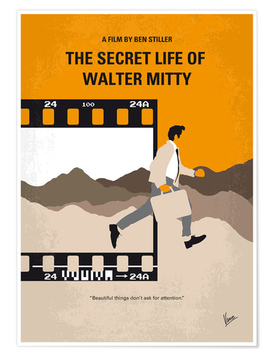 Póster Premium The Secret Life Of Walter Mitty