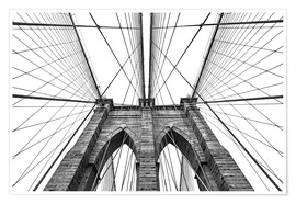 Póster Premium  Ponte do Brooklyn