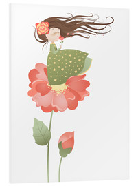 Quadro em PVC  The fragrance of the flowers - Kidz Collection