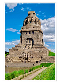Póster Premium The Monument to the Battle of the Nations