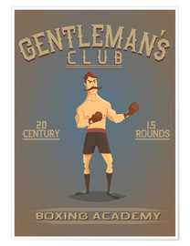Póster Premium Boxing Academy