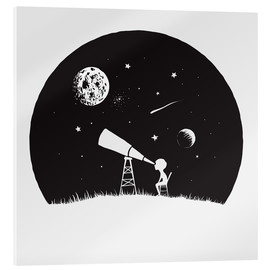 Quadro em acrílico  Looking into the stars - Kidz Collection