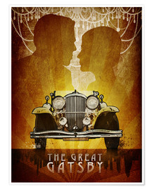 Póster Premium The Great Gatsby