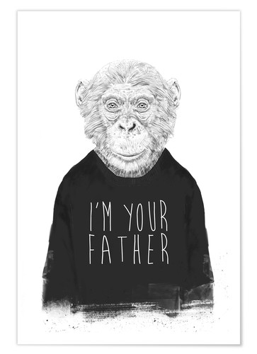 Póster Premium I'm your father