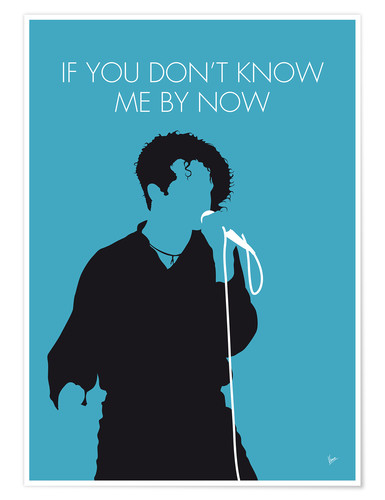 Póster Premium Simply Red - If You Don't Know Me By Now