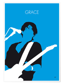 Póster Premium Jeff Buckley - Grace