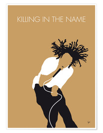 Póster Premium Rage Against the Machine, Killing in the name