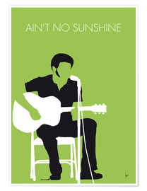 Póster Premium Bill Withers - Ain't No Sunshine