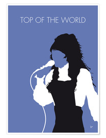 Póster Premium Carpenters - Top Of The World