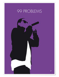 Póster Premium Jay-Z - 99 Problems