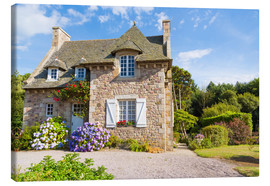 Quadro em tela  Country house in the summer