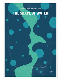 Póster Premium The Shape Of Water