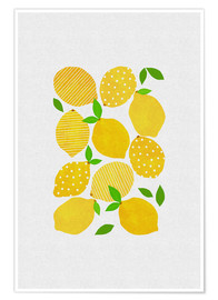 Póster Premium  Lemon Crowd - Orara Studio