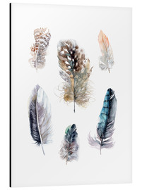 Quadro em alumínio  Feathers collection - Verbrugge Watercolor