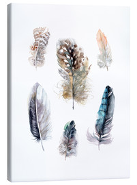 Quadro em tela  Feathers collection - Verbrugge Watercolor