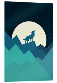 Quadro em acrílico  Keep The Wild In You - Andy Westface