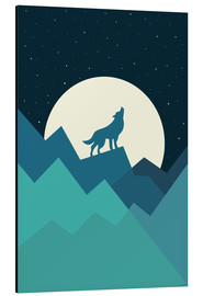 Quadro em alumínio  Keep The Wild In You - Andy Westface
