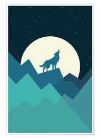 Póster Premium  Keep The Wild In You - Andy Westface
