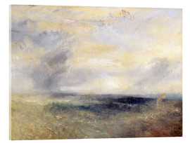 Quadro em acrílico  Margate do mar - Joseph Mallord William Turner