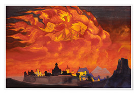 Póster Premium  Sophia, the Wisdom of the Almighty - Nicholas Roerich