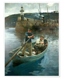 Póster Premium  The Lighthouse - Stanhope Alexander Forbes