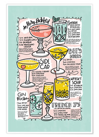 Póster Premium  Have A Drink on Me - Cynthia Frenette