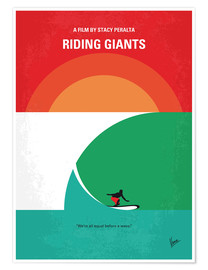 Póster Premium Riding Giants