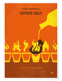 Póster Premium Coyote Ugly