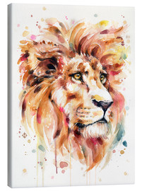 Quadro em tela  All Things Majestic (Lion) - Sillier Than Sally