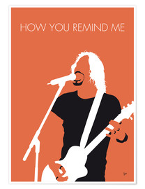 Póster Premium Nickelback - How You Remind Me