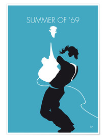 Póster Premium Bryan Adams - Summer Of '69
