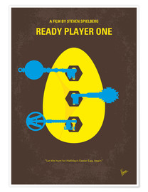Póster Premium Ready Player One