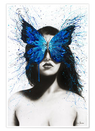 Póster Premium Butterfly Mind