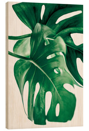 Quadro de madeira  Monstera 6 - Mareike Böhmer Photography