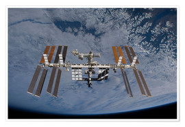 Póster Premium  International Space Station