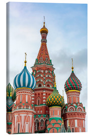 Quadro em tela  St. Basil's Cathedral at Red Square in Moscow - Click Alps