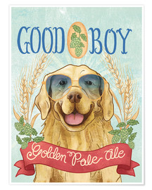 Póster Premium  Beer Dogs II - Mary Urban