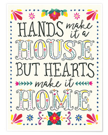 Póster Premium  Our home (inglês) - Laura Marshall