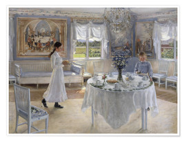 Póster Premium  Name day - Fanny Brate