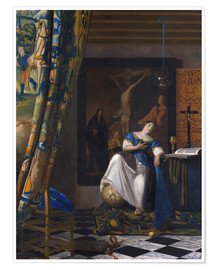 Póster Premium The Allegory of the Faith