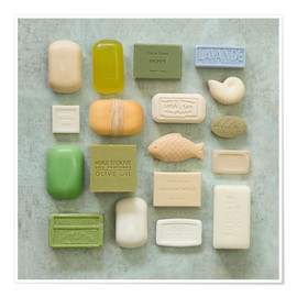 Póster Premium  Soap Collection - Andrea Haase Foto